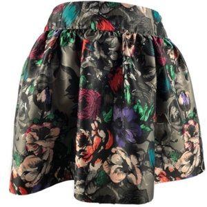 ⚠️CLOSET CLOSING⚠️ Candie's• floral skater skirt